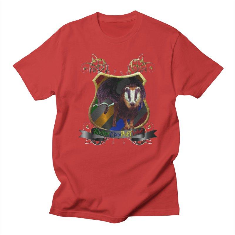 SlytherClawPuffIndor Women's Regular Unisex T-Shirt by Comedyrockgeek 's Artist Shop