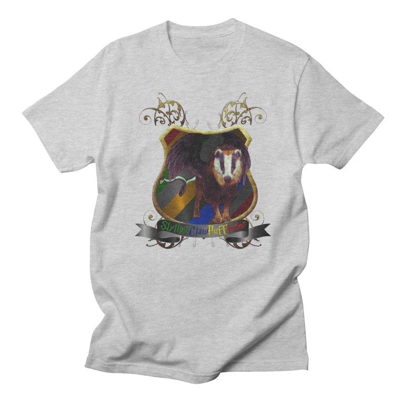 SlytherClawPuffIndor Men's Regular T-Shirt by Comedyrockgeek 's Artist Shop