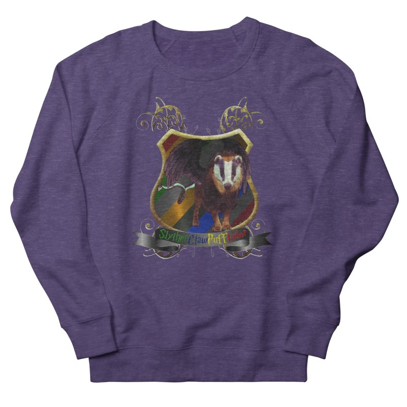 SlytherClawPuffIndor Men's Sweatshirt by Comedyrockgeek 's Artist Shop