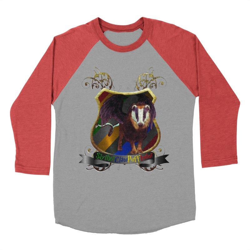 SlytherClawPuffIndor Women's Baseball Triblend Longsleeve T-Shirt by Comedyrockgeek 's Artist Shop