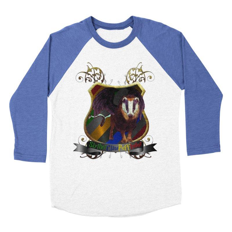 SlytherClawPuffIndor Men's Baseball Triblend Longsleeve T-Shirt by Comedyrockgeek 's Artist Shop