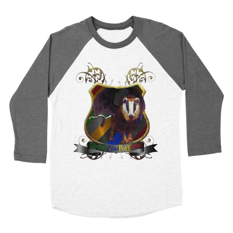 SlytherClawPuffIndor Men's Baseball Triblend T-Shirt by Comedyrockgeek 's Artist Shop