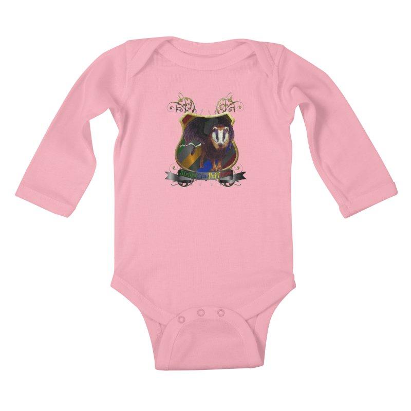 SlytherClawPuffIndor Kids Baby Longsleeve Bodysuit by Comedyrockgeek 's Artist Shop