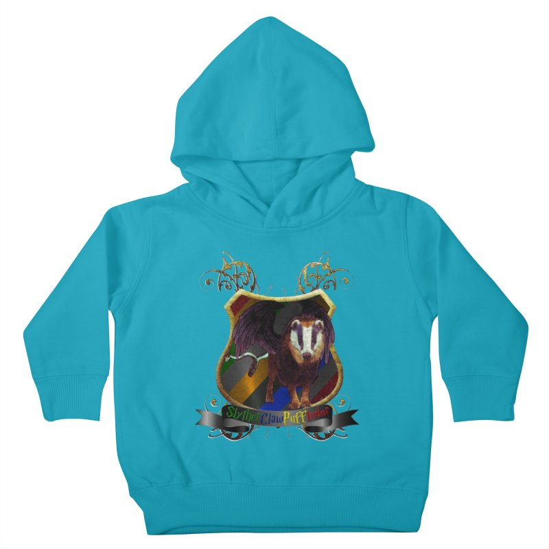 SlytherClawPuffIndor Kids Toddler Pullover Hoody by Comedyrockgeek 's Artist Shop