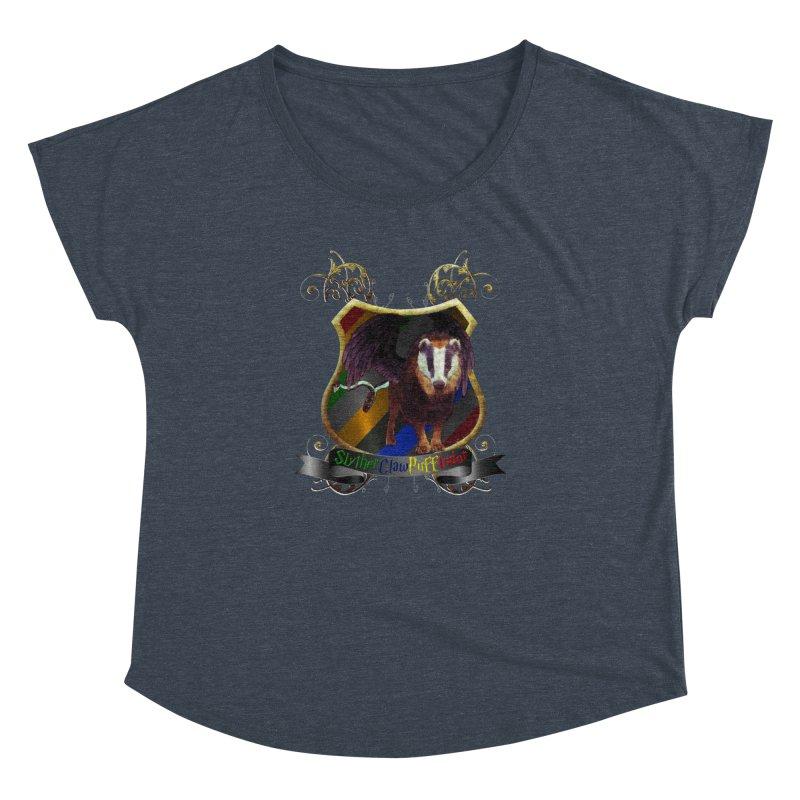 SlytherClawPuffIndor Women's Dolman Scoop Neck by Comedyrockgeek 's Artist Shop