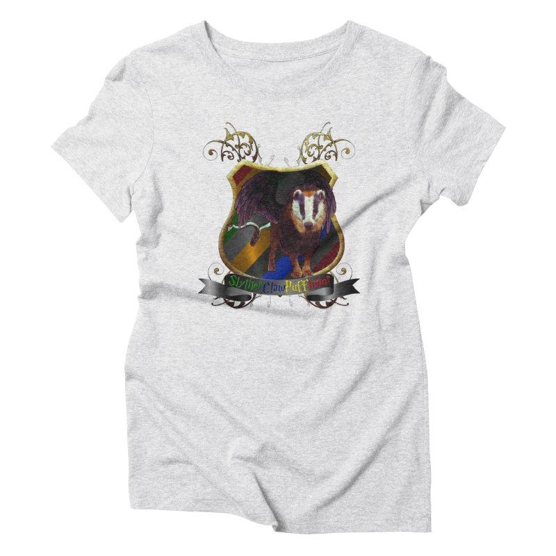 SlytherClawPuffIndor Women's Triblend T-Shirt by Comedyrockgeek 's Artist Shop