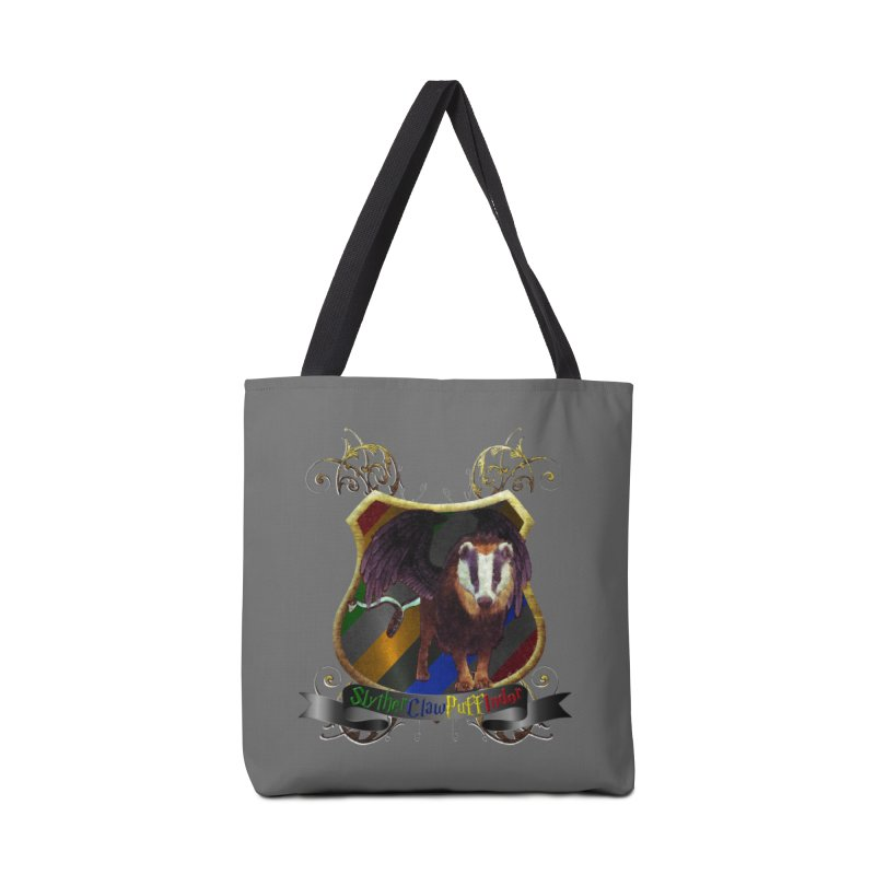 SlytherClawPuffIndor Accessories Tote Bag Bag by Comedyrockgeek 's Artist Shop