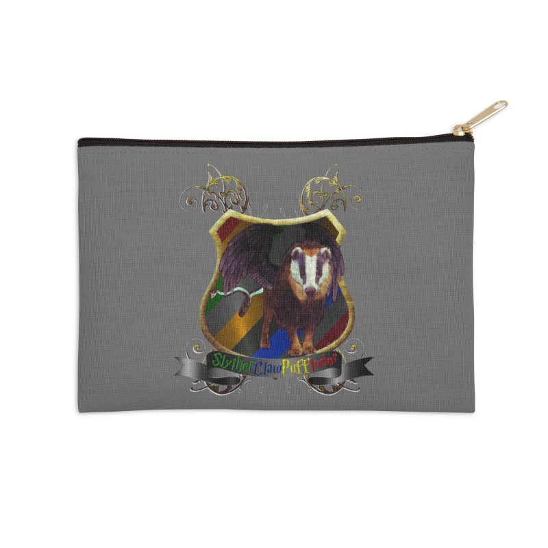 SlytherClawPuffIndor Accessories Zip Pouch by Comedyrockgeek 's Artist Shop