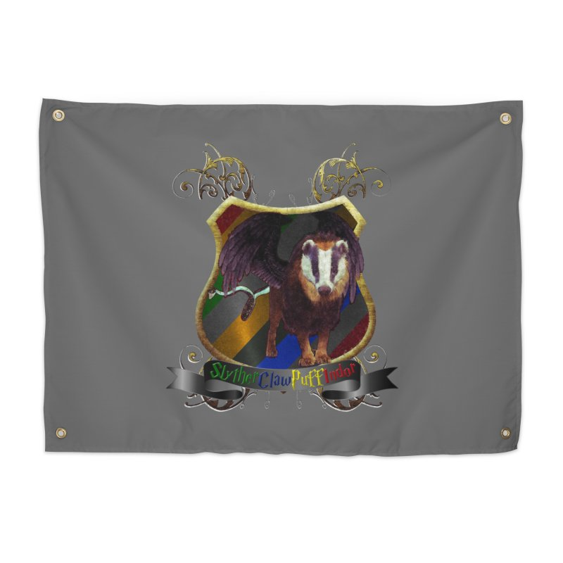 SlytherClawPuffIndor Home Tapestry by Comedyrockgeek 's Artist Shop