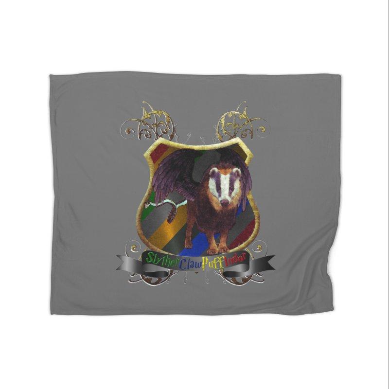 SlytherClawPuffIndor Home Fleece Blanket Blanket by Comedyrockgeek 's Artist Shop