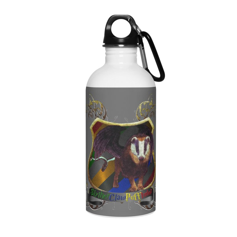SlytherClawPuffIndor Accessories Water Bottle by Comedyrockgeek 's Artist Shop