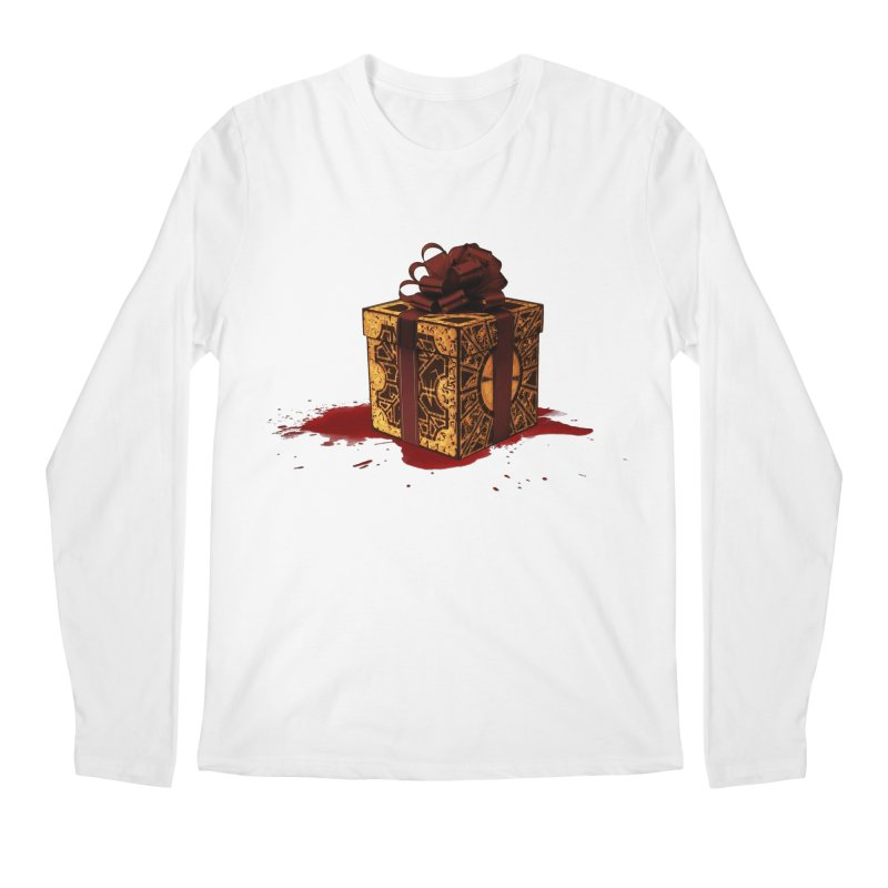 Dangerous Gift Men's Longsleeve T-Shirt by Comedyrockgeek 's Artist Shop