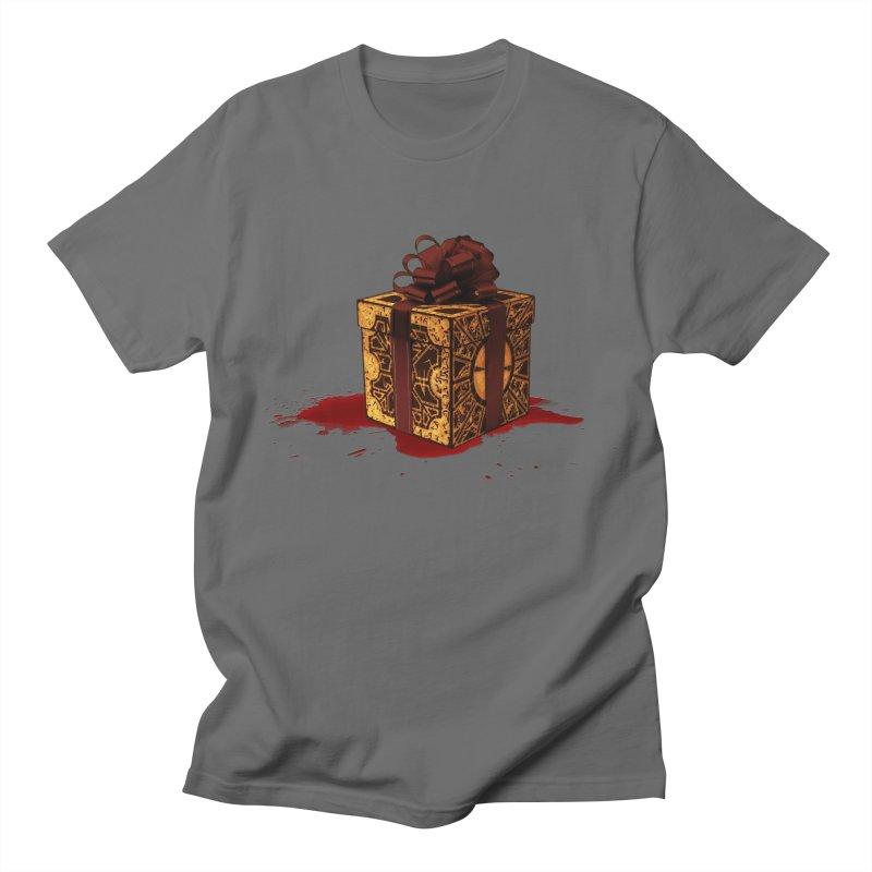 Dangerous Gift Men's T-Shirt by Comedyrockgeek 's Artist Shop