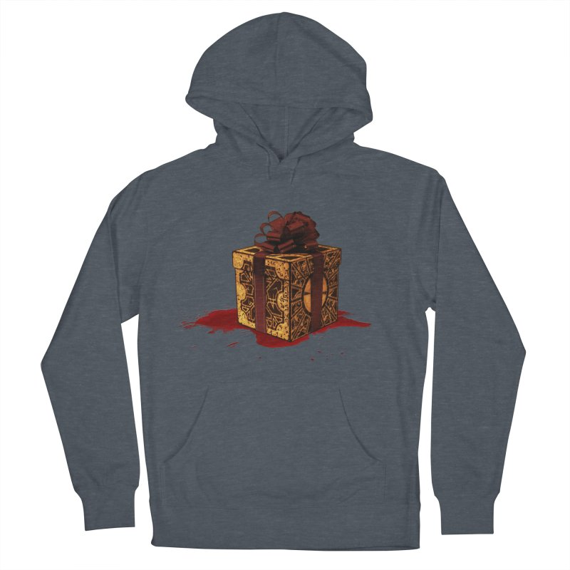 Dangerous Gift Men's French Terry Pullover Hoody by Comedyrockgeek 's Artist Shop