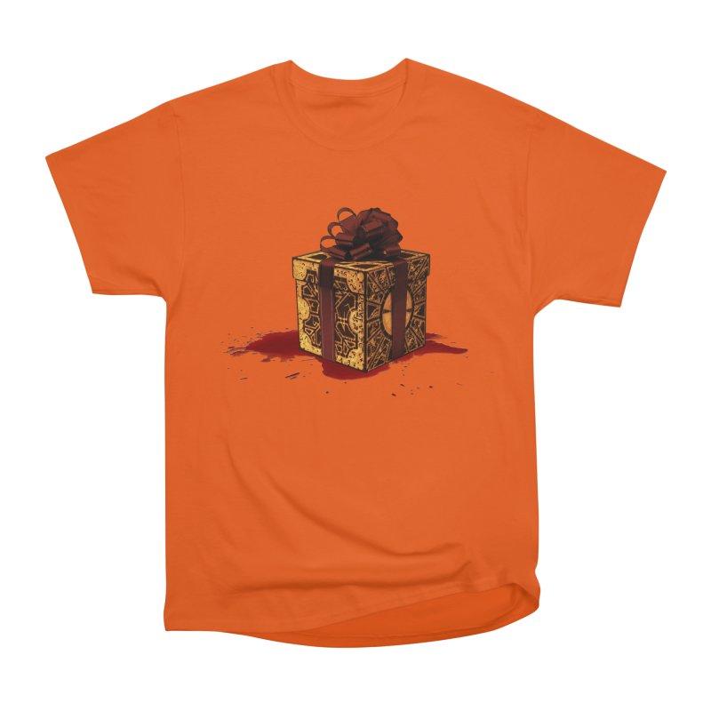 Dangerous Gift Men's Heavyweight T-Shirt by Comedyrockgeek 's Artist Shop
