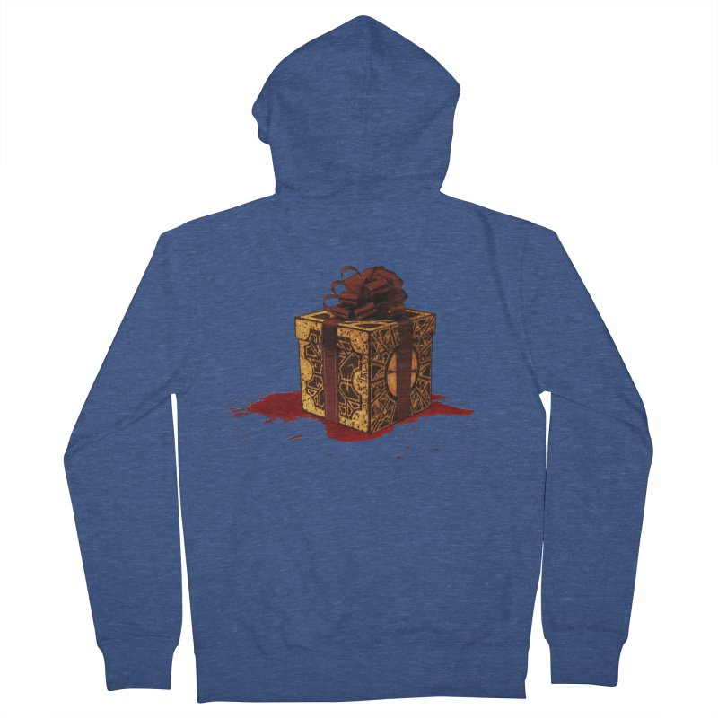 Dangerous Gift Men's French Terry Zip-Up Hoody by Comedyrockgeek 's Artist Shop