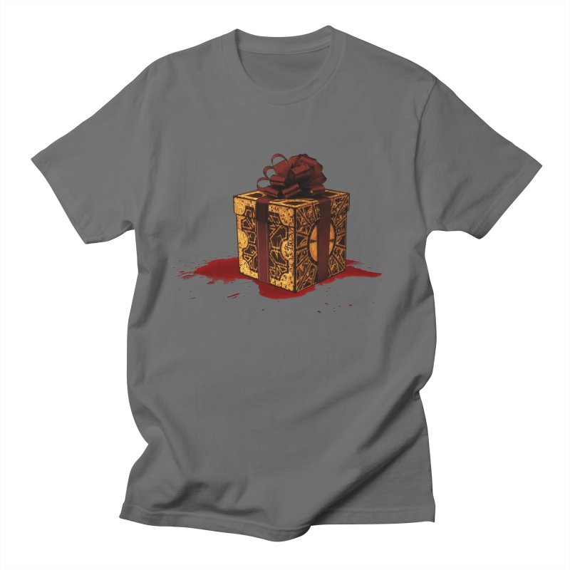Dangerous Gift Men's T-Shirt by Comedyrockgeek 's Artist Shop