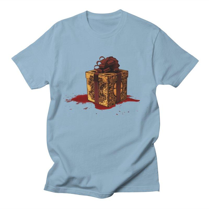 Dangerous Gift Men's Regular T-Shirt by Comedyrockgeek 's Artist Shop