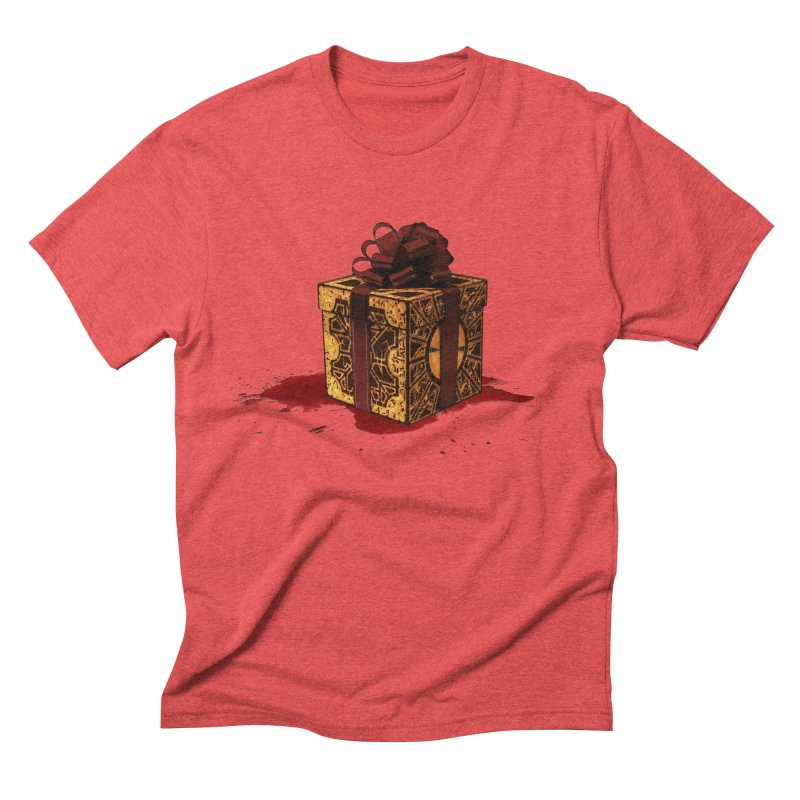 Dangerous Gift Men's Triblend T-Shirt by Comedyrockgeek 's Artist Shop