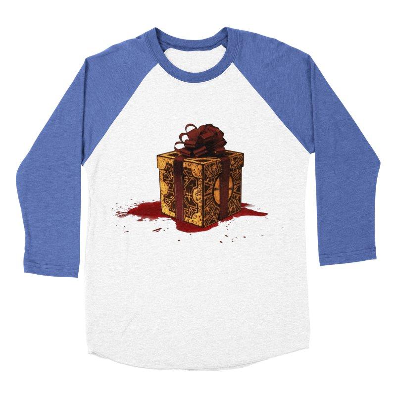 Dangerous Gift Women's Baseball Triblend Longsleeve T-Shirt by Comedyrockgeek 's Artist Shop