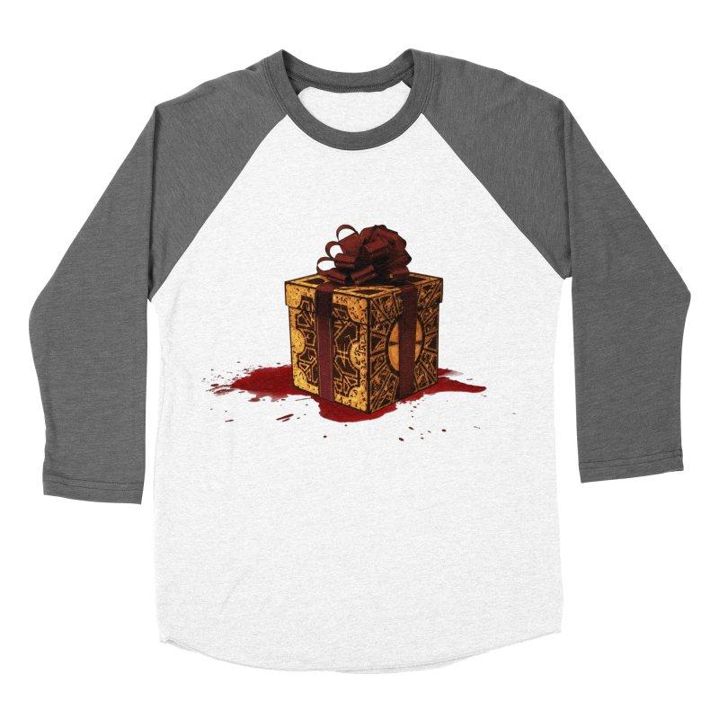 Dangerous Gift Women's Baseball Triblend T-Shirt by Comedyrockgeek 's Artist Shop