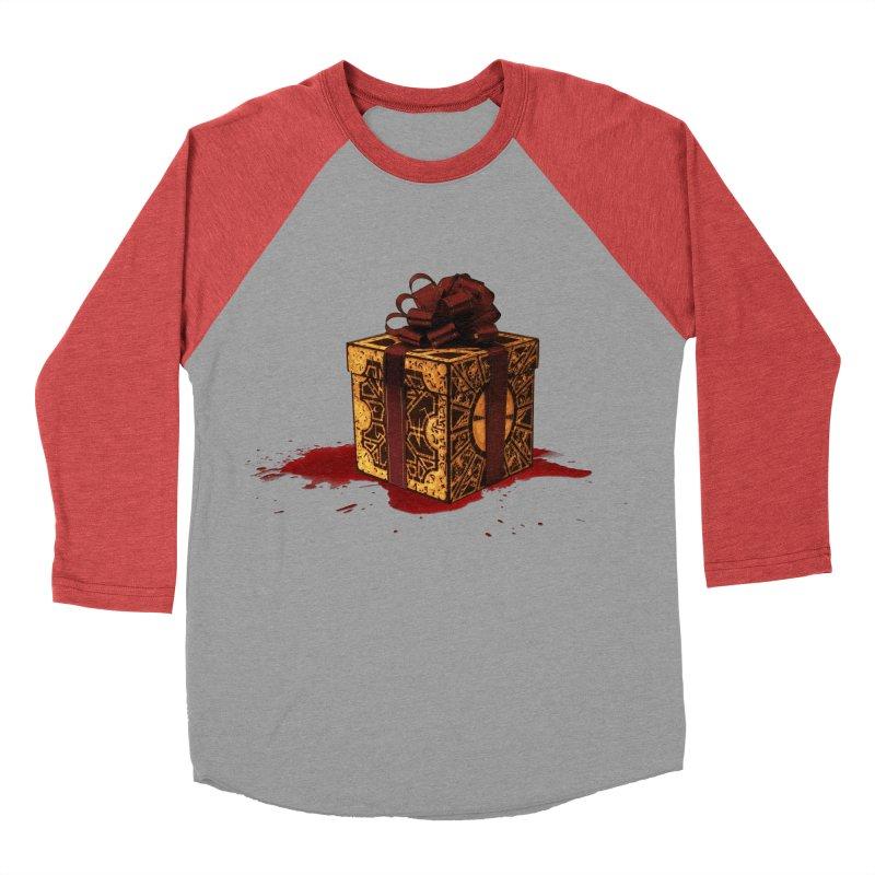 Dangerous Gift Men's Baseball Triblend T-Shirt by Comedyrockgeek 's Artist Shop