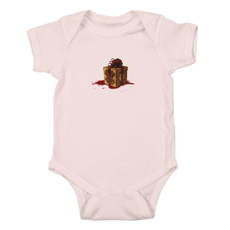 Dangerous Gift Kids Baby Bodysuit by Comedyrockgeek 's Artist Shop