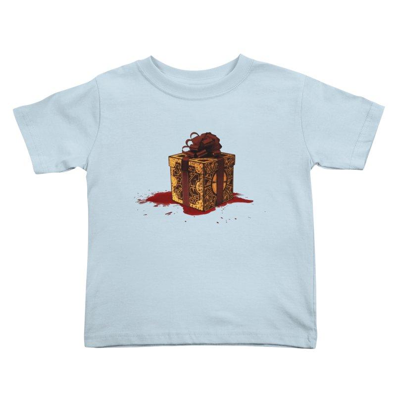Dangerous Gift Kids Toddler T-Shirt by Comedyrockgeek 's Artist Shop