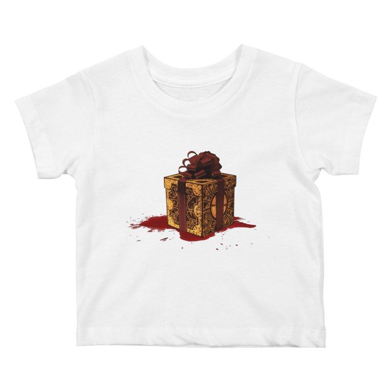 Dangerous Gift Kids Baby T-Shirt by Comedyrockgeek 's Artist Shop