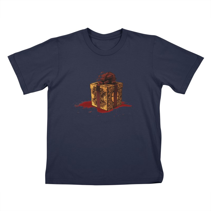 Dangerous Gift Kids T-Shirt by Comedyrockgeek 's Artist Shop