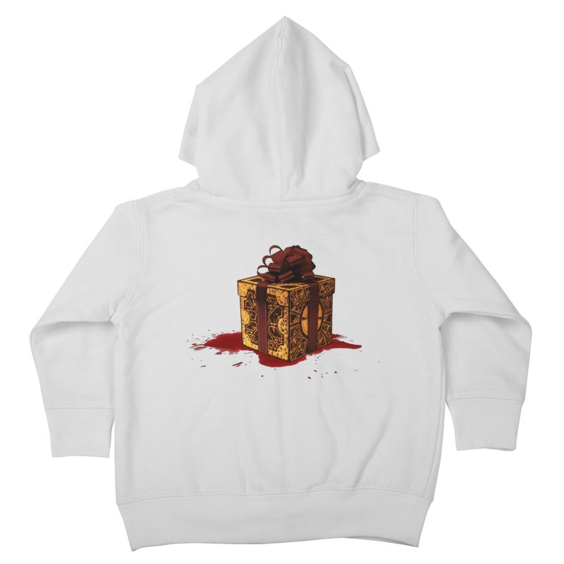 Dangerous Gift Kids Toddler Zip-Up Hoody by Comedyrockgeek 's Artist Shop