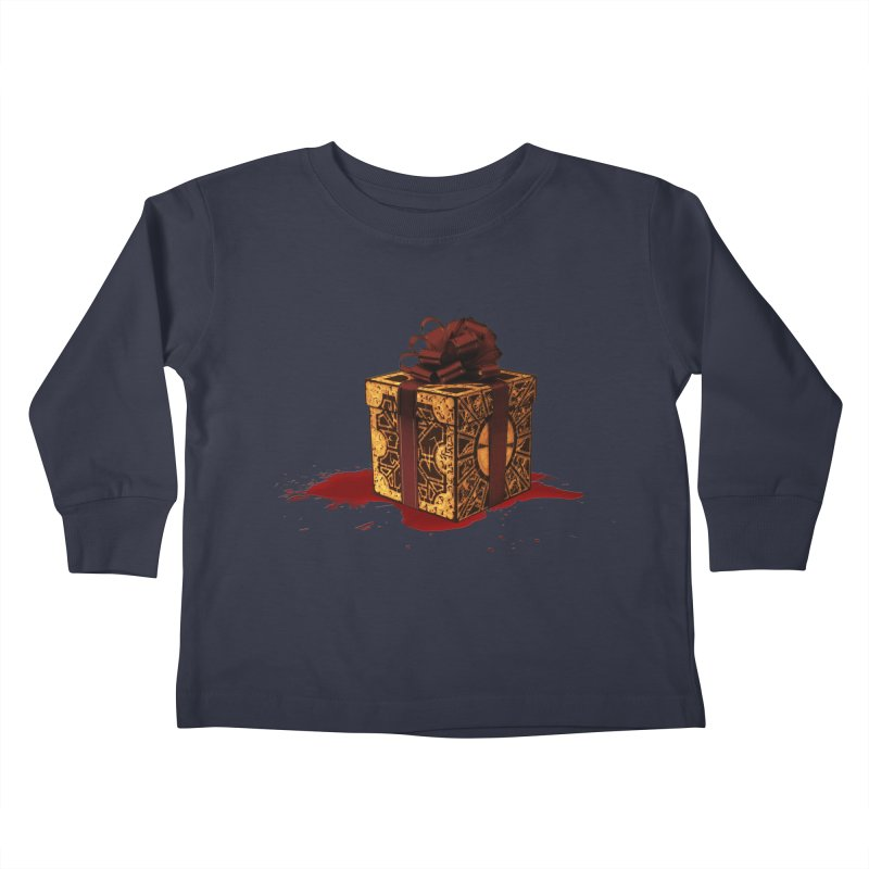 Dangerous Gift Kids Toddler Longsleeve T-Shirt by Comedyrockgeek 's Artist Shop