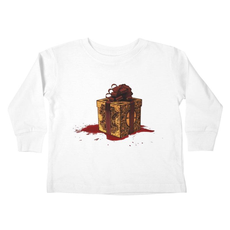 Dangerous Gift Kids Toddler Longsleeve T-Shirt by Comedyrockgeek 's Artist Shop