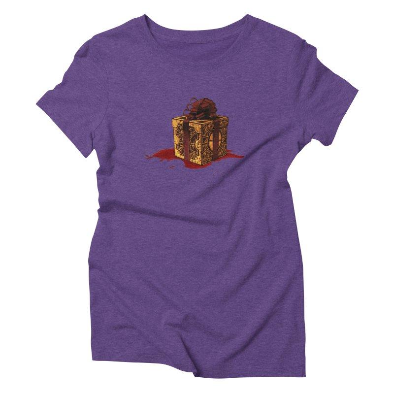 Dangerous Gift Women's Triblend T-Shirt by Comedyrockgeek 's Artist Shop
