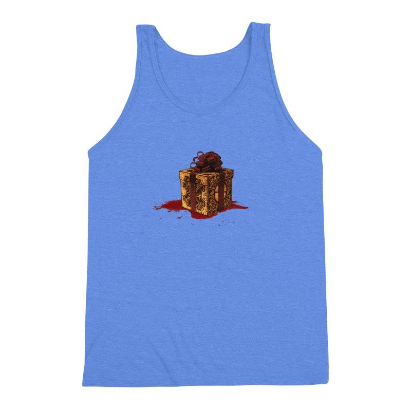 Dangerous Gift Men's Triblend Tank by Comedyrockgeek 's Artist Shop