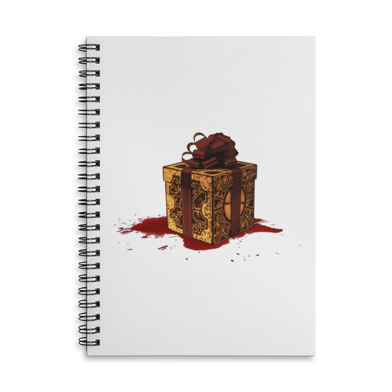 Dangerous Gift Accessories Lined Spiral Notebook by Comedyrockgeek 's Artist Shop