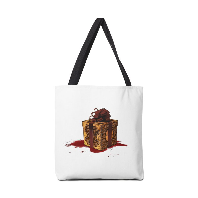 Dangerous Gift Accessories Bag by Comedyrockgeek 's Artist Shop