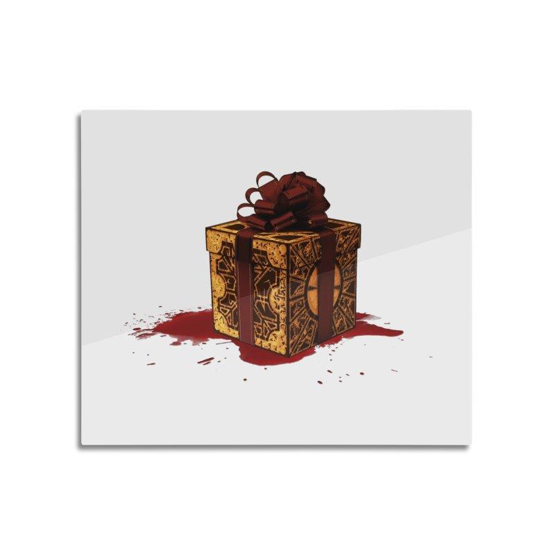 Dangerous Gift Home Mounted Acrylic Print by Comedyrockgeek 's Artist Shop