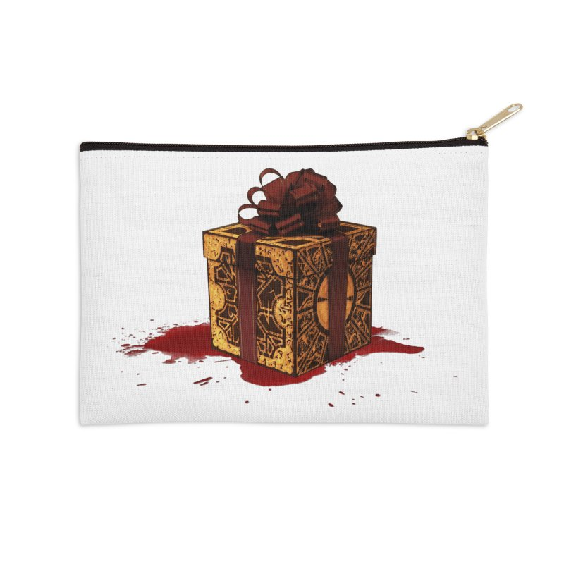 Dangerous Gift Accessories Zip Pouch by Comedyrockgeek 's Artist Shop