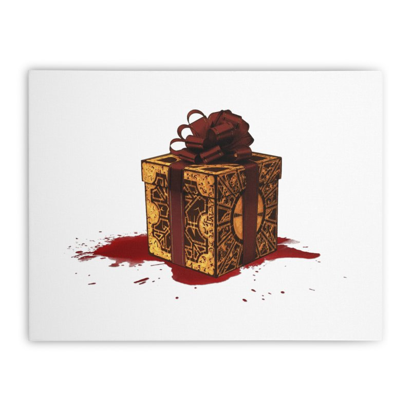 Dangerous Gift Home Stretched Canvas by Comedyrockgeek 's Artist Shop