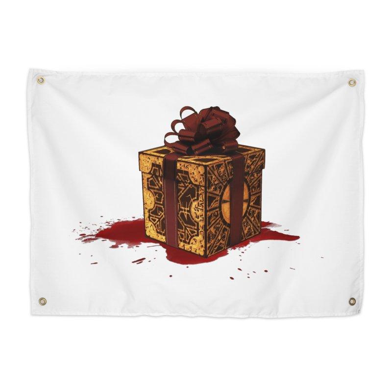 Dangerous Gift Home Tapestry by Comedyrockgeek 's Artist Shop