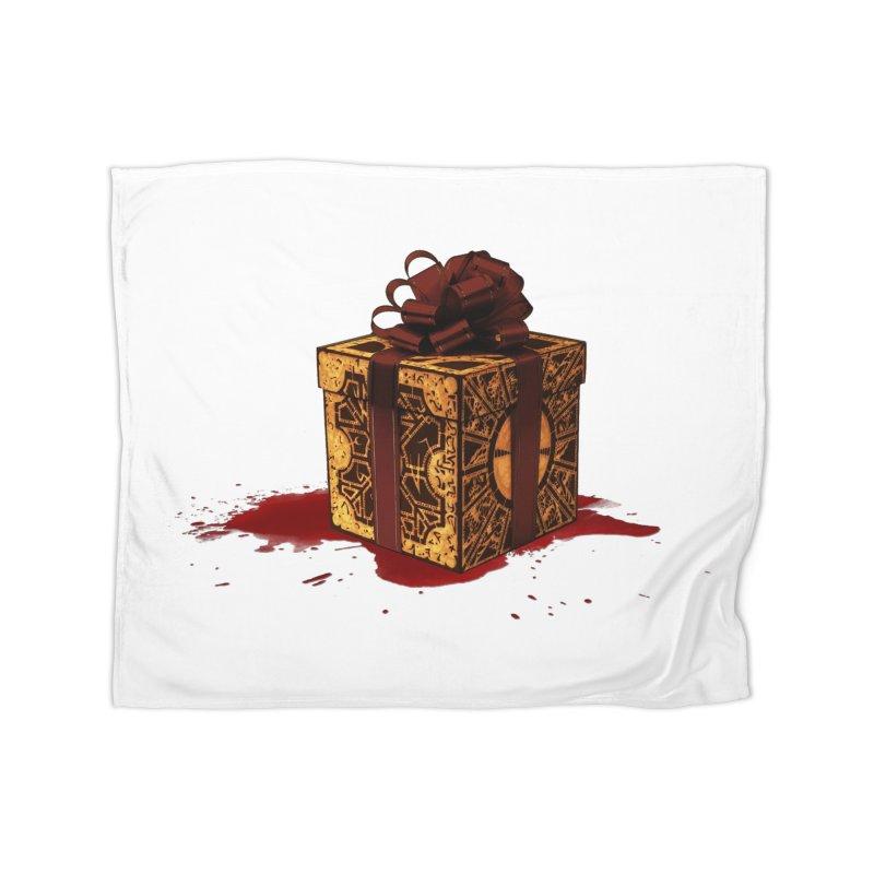 Dangerous Gift Home Fleece Blanket Blanket by Comedyrockgeek 's Artist Shop