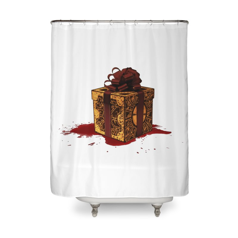 Dangerous Gift Home Shower Curtain by Comedyrockgeek 's Artist Shop