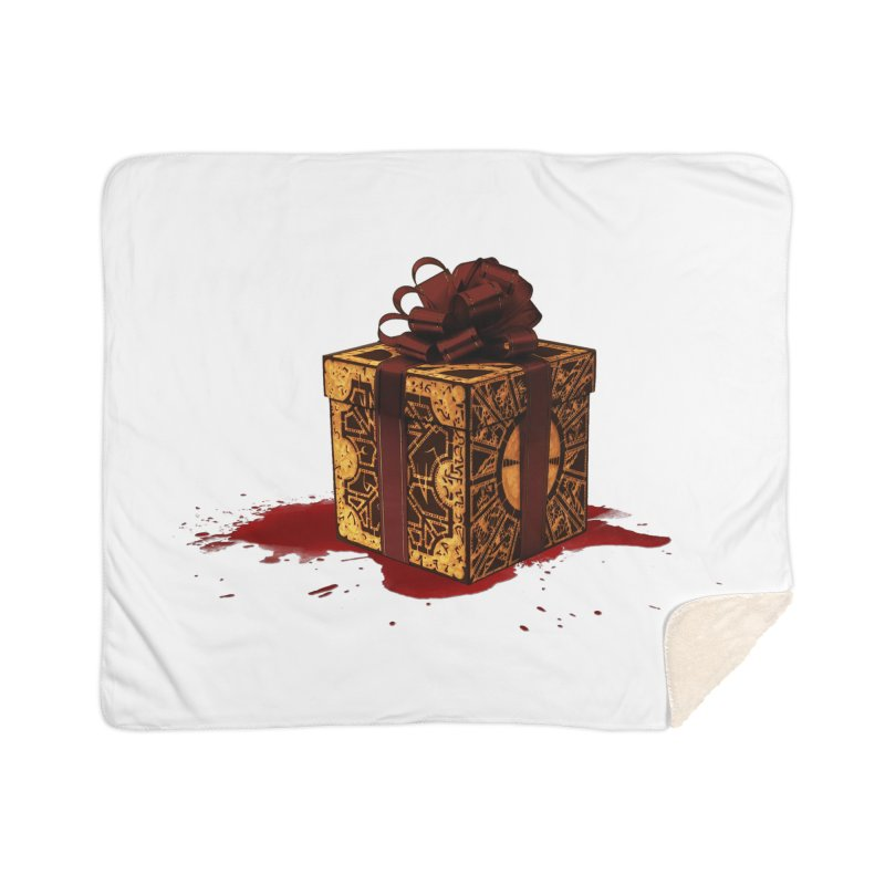 Dangerous Gift Home Sherpa Blanket Blanket by Comedyrockgeek 's Artist Shop