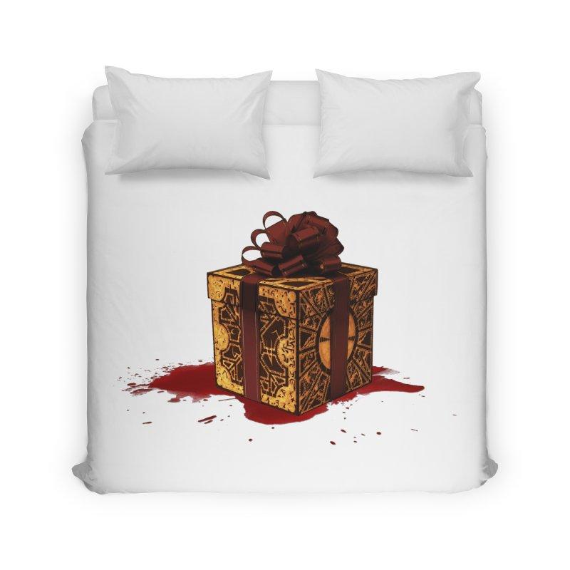 Dangerous Gift Home Duvet by Comedyrockgeek 's Artist Shop