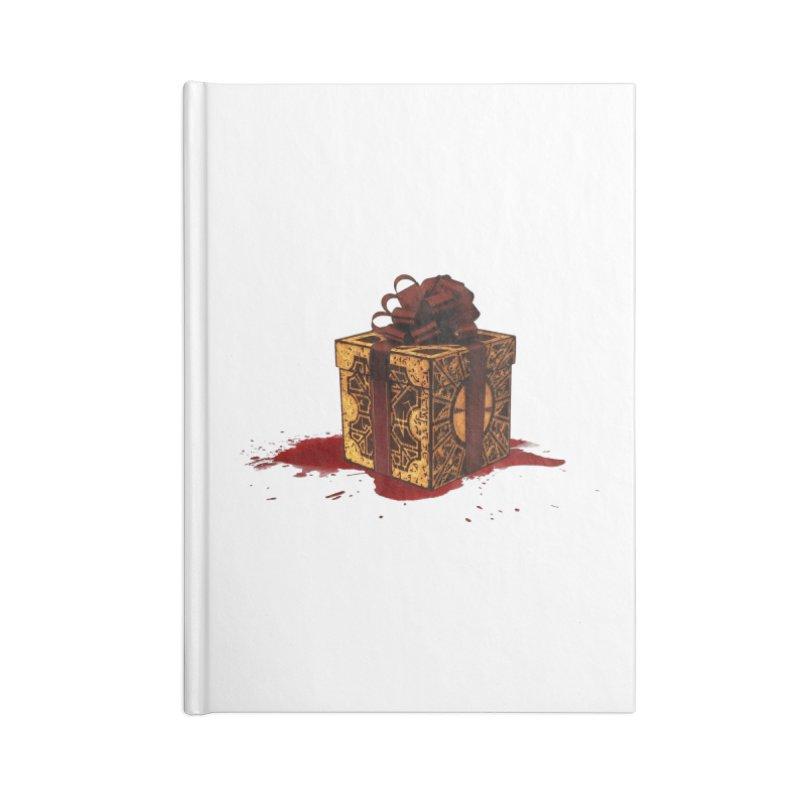 Dangerous Gift Accessories Blank Journal Notebook by Comedyrockgeek 's Artist Shop