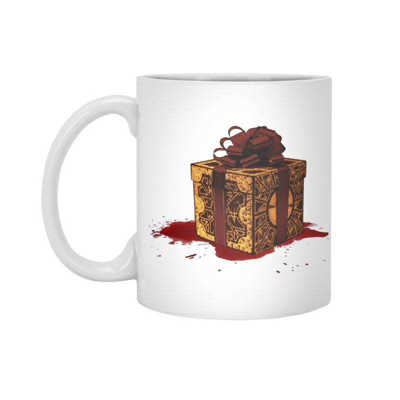 Dangerous Gift Accessories Standard Mug by Comedyrockgeek 's Artist Shop