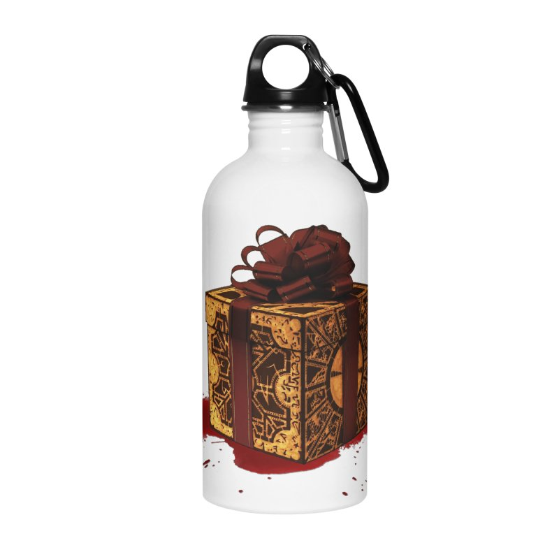 Dangerous Gift Accessories Water Bottle by Comedyrockgeek 's Artist Shop