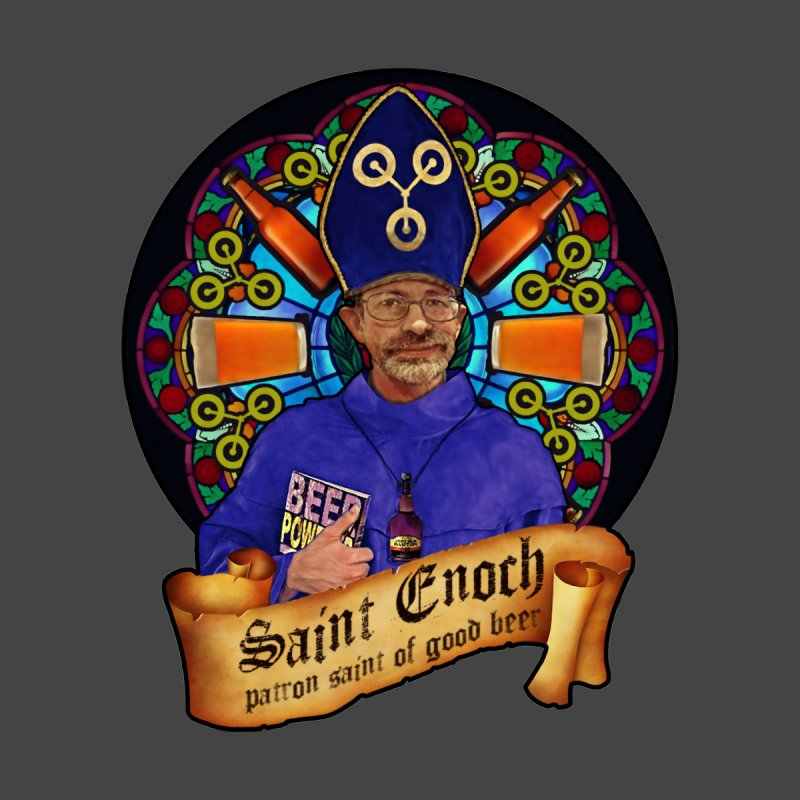 Saint Enoch Home Blanket by Comedyrockgeek 's Artist Shop