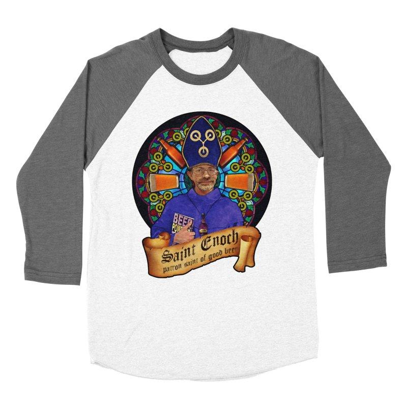 Saint Enoch Women's Longsleeve T-Shirt by Comedyrockgeek 's Artist Shop
